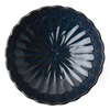 "KIKU 6.5"" SHALLOW BOWL - NAVY"