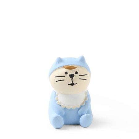 Figurine Baby Cat Blue