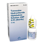 Tetracaine Drops 0.5%, 5mL