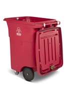96 Gallon Two Wheel Medical Waste Carts