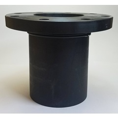 "6"" Polyethylene Weld Flange Tank Fitting - Side 2"