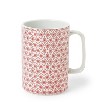 Mug 16 Oz. Asanoha Red