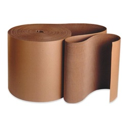 "48"" X 250' A-FLUTE KRAFT SINGLEFACE CORRUGATED ROLL  SF48"