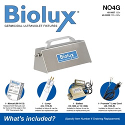 Biolux NO4G Included Accessories