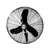 "Air King 1/3 HP Industrial Grade 24"" Oscillating Wall Mount Fan"