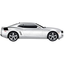 2010-2015 Camaro Quarter Reverse Hockey Stripe