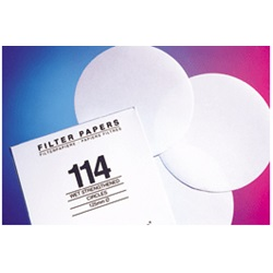 Filter Papers, Qualitative Wet Strengthened Grade 114 (Whatman)