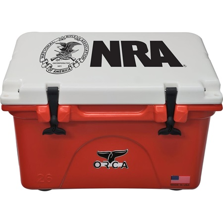 NRA Burnt Orange/White 26 Quart