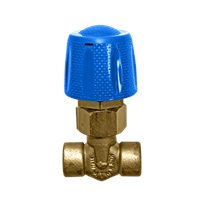 "MTM Hydro 1/4"" Low Pressure Chemical Metering Brass Valve"