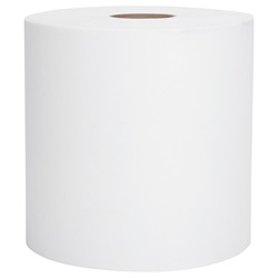 "02068 KC SCOTT WHITE HARD ROLL TOWEL, 8"" X 400', 12 RLS/CS"