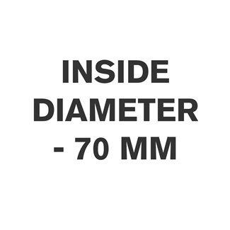 Inside Diameter - 70 mm