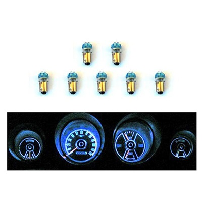 1969-70 Mustang Instrument Panel LED Light Bulb Set
