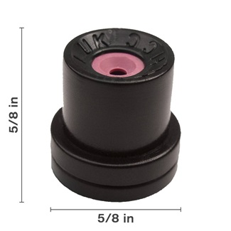 Black Hollow Cone Ceramic Nozzle