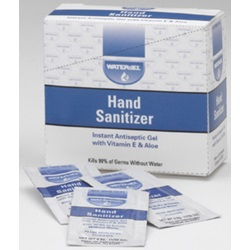 HAND SANITIZER 25 PACK DISPENSER