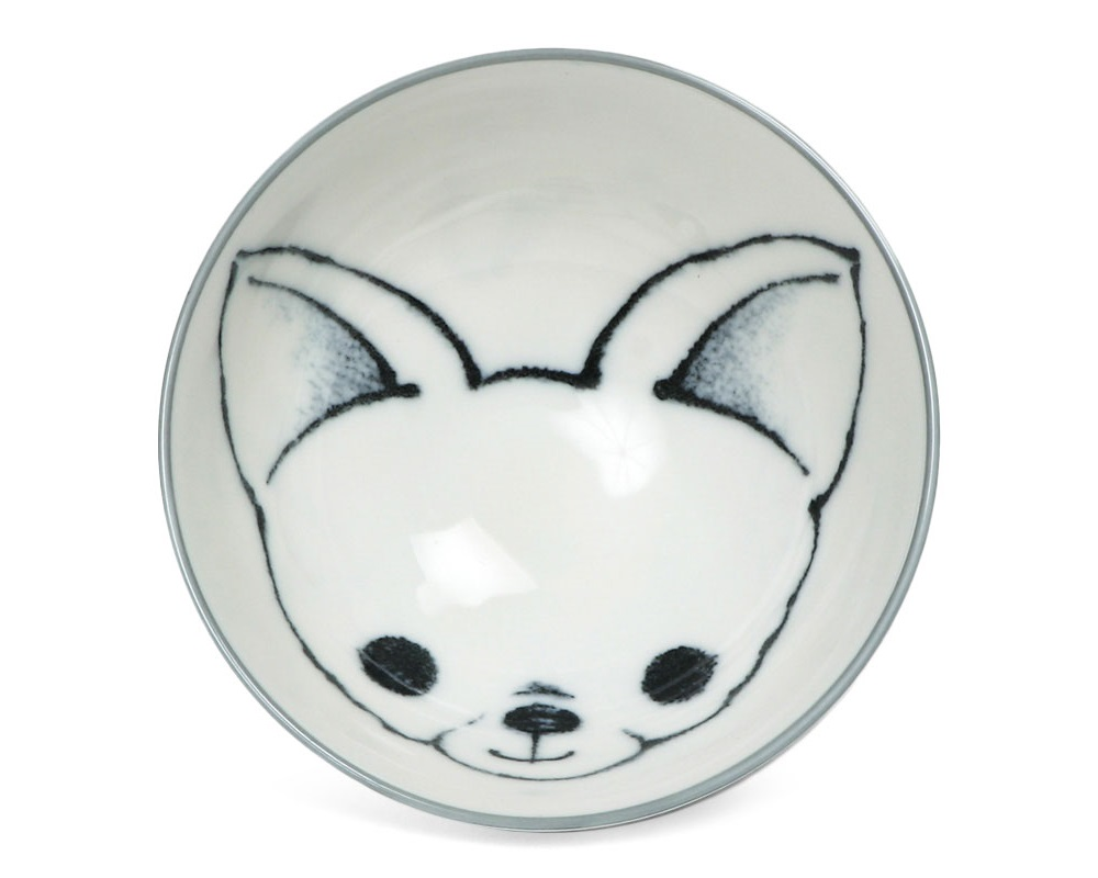 "Dog Days 4.5"" Rice Bowl - Chihuahua"