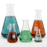Glass PYREX® Erlenmeyer Flask Starter Pack (Corning 4980)