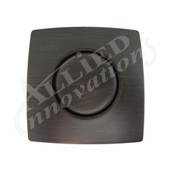 AIR BUTTON TRIM: #20 DESIGNER TOUCH, OLD WORLD BRONZE, SQUARE