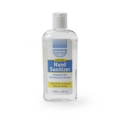 HAND SANITIZER 4 OZ. BOTTLE