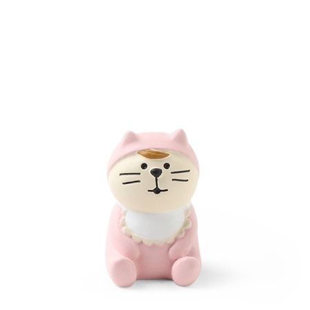 Figurine Baby Cat Pink