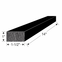 70-3910-97 EPDM Block Drawing