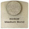 Single Dot Medium Bond 60/80 Grinder Tooling Compatible with Husqvarna® Redi Lock®