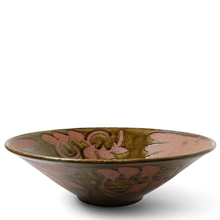 "Sabi Floral 12"" Serving Bowl"