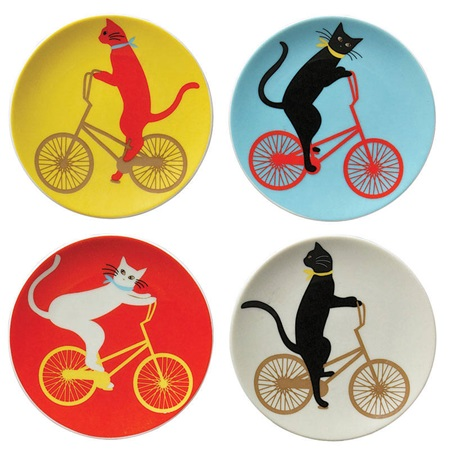 "Cruiser Cat 3.5"" Mini Plate Set"