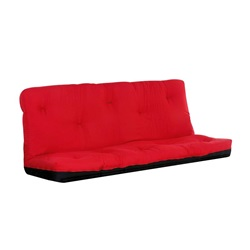 "02798RD 8"" RED Q SIZE FUTON MATTRESS"