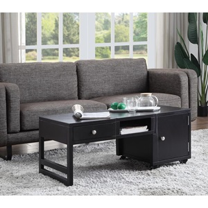 81180 BLACK COFFEE TABLE
