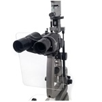 Upper Illumination Slit Lamp Breath Shield