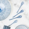 Blue & White Dessert Spoon Set