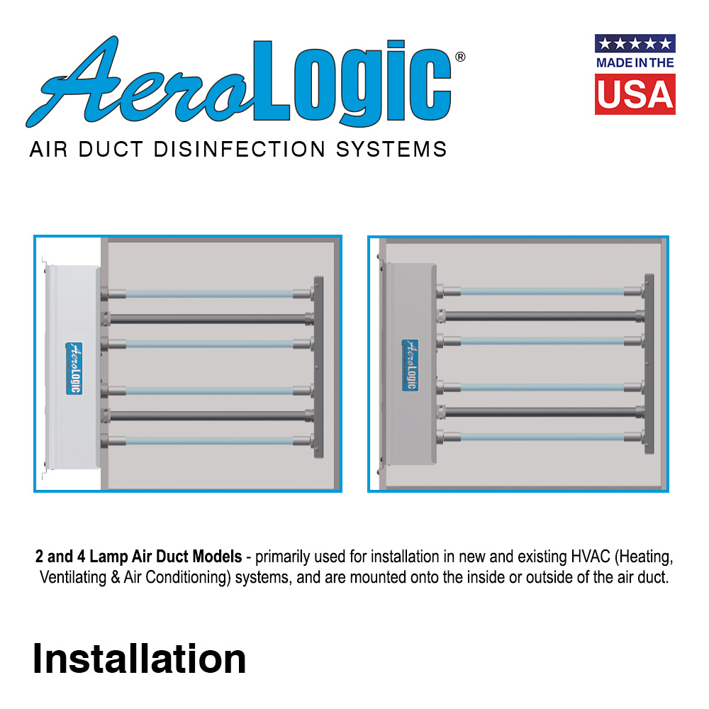 Awe Inspiring Aerologic Uv Air Units Four Lamp High Output Buyultraviolet Wiring Digital Resources Indicompassionincorg