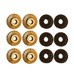1964-68 Mustang Quarter Panel Extension Nut (Set of 6)