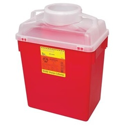 6 Gallon Red Container - Locking Funnel Lid