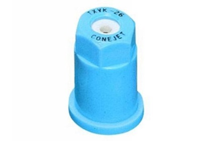 ConeJet TeeJet TX-VK26 - Light Blue VisiFlo Hollow Cone Ceramic Nozzle