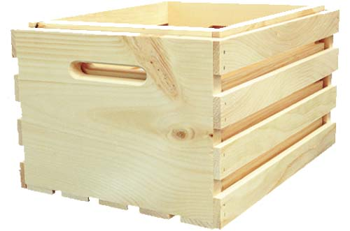 GMI Gates - 2 Pc  Large Nested Wood Crates (Lrg  & Reg )