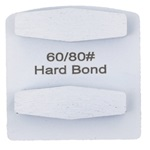 Double Hex Hard Bond 60/80 Grinder Tooling Compatible With: Husqvarna® Redi Lock®