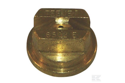 TeeJet TP6502E - 65° Brass Even Flat Spray Nozzle