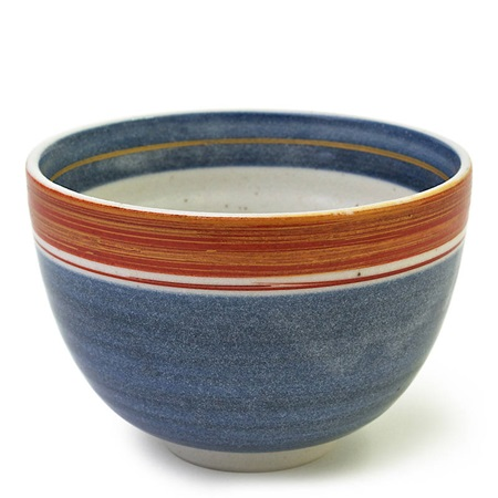 "Blue & Orange 4.75"" Bowl"