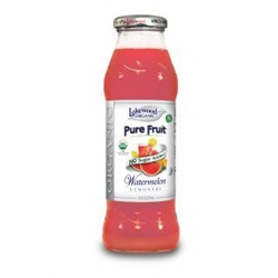Watermelon Lemonade, Organic (Lakewood) - 12.5oz (Case of 12)