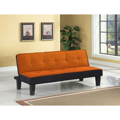 57029 ORANGE ADJUSTABLE SOFA
