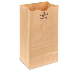 3# GROCERY BAG, 4-3/4 X 2-15/16 X 8-9/16, DURO
