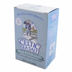 Celtic Fossil River Fine Ground Salt (10.6 oz)