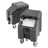 Cambro ICS100L4S110 Slant Top Ice Caddy Mobile