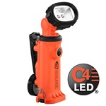 Streamlight Knucklehead Div 2 Spot Beam Rechargeable Work Light with Articulating Head - 120V AC/12V DC - Orange