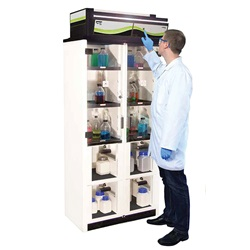 Captair® Smart Ductless Filtered Chemical Storage Cabinets (Erlab)