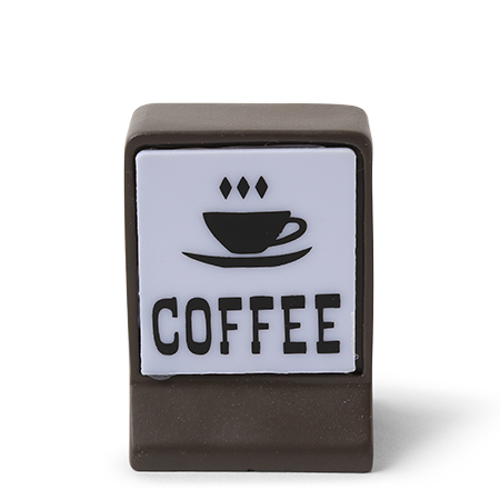 "Figurine 2.5"" Light Up Coffee Sign"