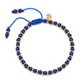 Lola Rose Notting Hill Bracelet, Lapis Lazuli with Gold