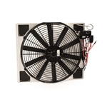 64-66 Electric Fan and Shroud Kit for Aluminum Radiators