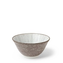 "Tokusa Gray 5.25"" Rice Bowl"
